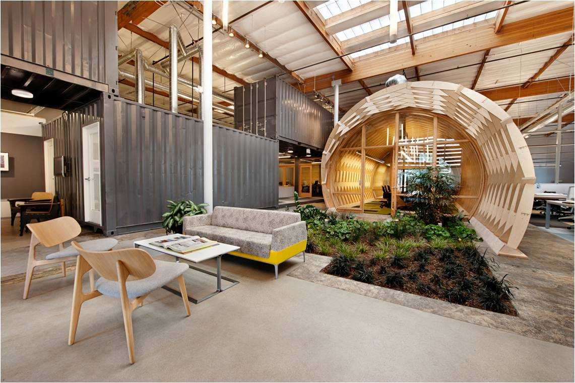 Creative office environments Workspace Creative Office Examples Variety Of Spaces Scoopit Creative Office Examples Variety Of Spaces Producing Creativity