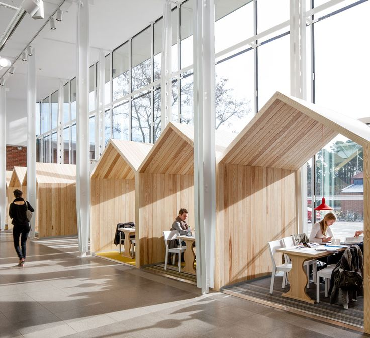 Creative office environments Art Design Karolinska Institute Future Learning Environments By Tengbom Undercover Recruiter Creative Office Examples Variety Of Spaces Producing Creativity